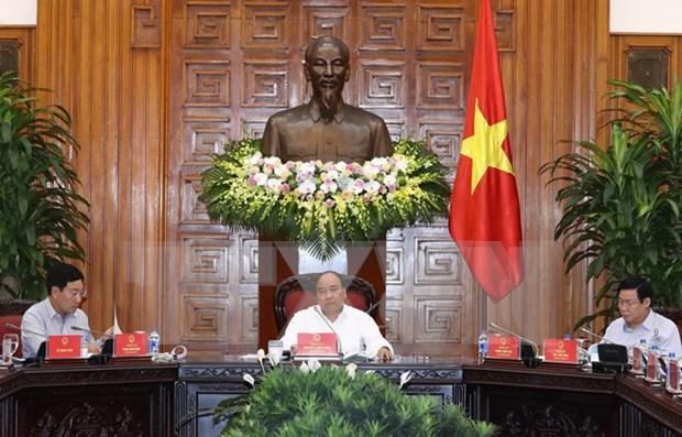 Primer ministro de Vietnam pide acelerar desembolso de AOD hinh anh 1