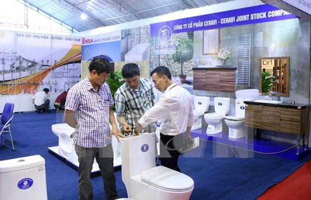 Inauguran en Vietnam exposicion sobre materiales de construccion hinh anh 1