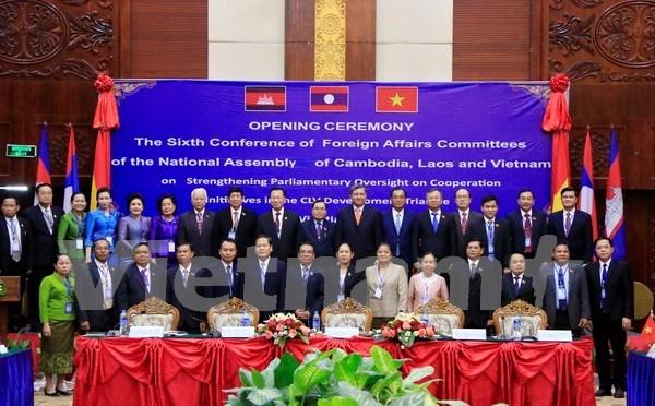 Parlamentos de paises del Triangulo de desarrollo buscan impulsar cooperacion hinh anh 1