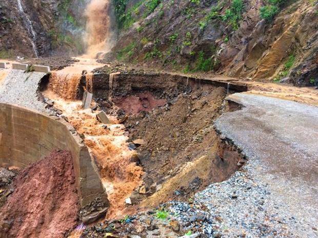 Desastres naturales provocan perdidas humanas y materiales en Vietnam hinh anh 1