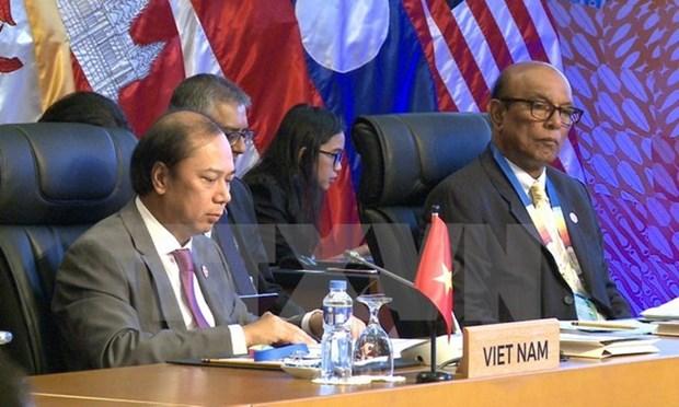 Vietnam asiste a SOM ASEAN y citas conexas hinh anh 1