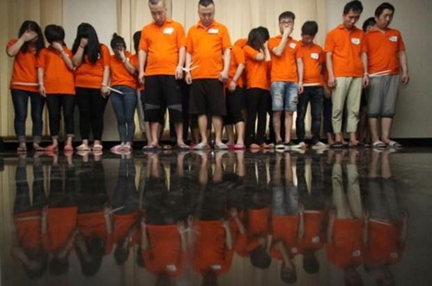 Indonesia y Camboya desmantelan bandas de delincuencia cibernetica hinh anh 1