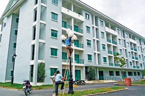 Nuevas viviendas para personas de bajos recursos en Vietnam hinh anh 1