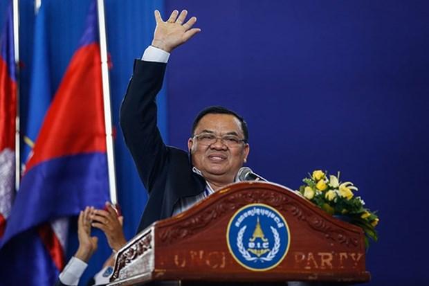 Exvicepremier camboyano arrestado por delitos relacionados con drogas hinh anh 1