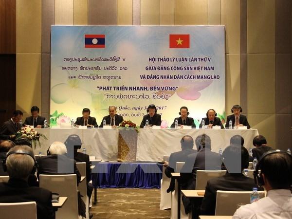 Vietnam y Laos logran notables avances bajo liderazgo de PCV y PPRL hinh anh 1