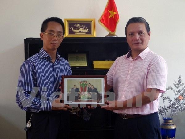 Agencia Vietnamita de Noticias contribuye al robustecimiento de lazos Vietnam- Argelia hinh anh 1