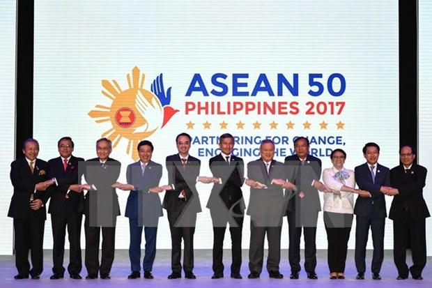 Inauguran en Manila Reuniones de Cancilleres de la ASEAN hinh anh 1