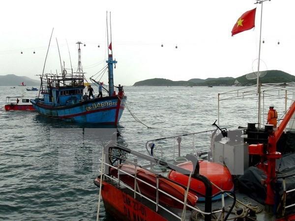 Vietnam: Trasladan a tierra a marinero enfermo cuando laboraba en el mar hinh anh 1