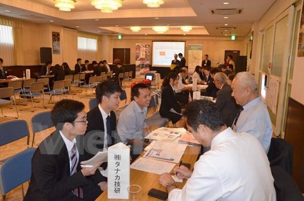 Vietnam y Japon estrechan lazos en materia de trabajo hinh anh 1