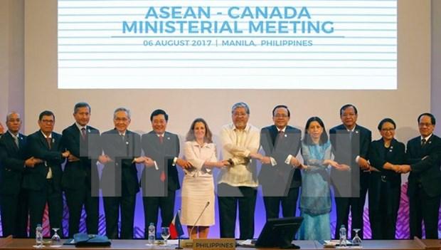 Canada, Sudcorea y Nueva Zelanda impulsan cooperacion con ASEAN hinh anh 1