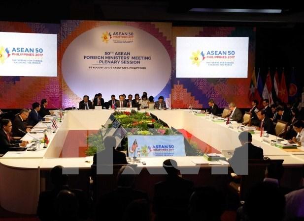 ASEAN y China aprueban borrador marco de COC hinh anh 1