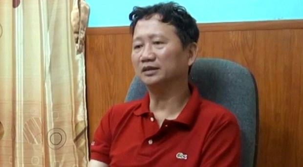 Policia vietnamita emite orden de arresto provisional contra Trinh Xuan Thanh hinh anh 1