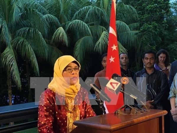 Halimah Yacob renuncia al cargo de presidenta del Parlamento singapurense hinh anh 1