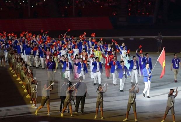 Deportistas vietnamitas mostraran imagen pacifica de su pais en SEA Games 29 hinh anh 1