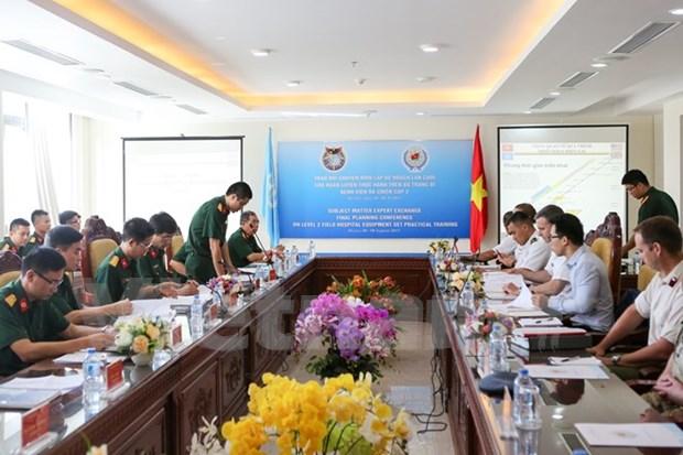 Vietnam intensifica intercambio de experiencias sobre misiones de paz de la ONU hinh anh 1