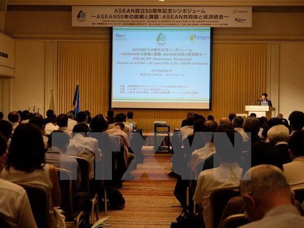 Celebran en Japon seminario sobre trayectoria de desarrollo de la ASEAN hinh anh 1