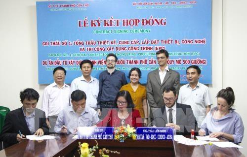 Inician proceso de construccion de hospital oncologico en ciudad deltaica vietnamita hinh anh 1