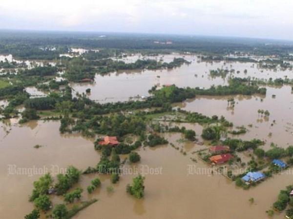 Inundaciones causan estragos en Tailandia hinh anh 1