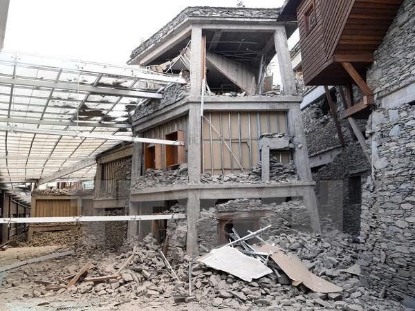 Vietnam extiende condolencias a China por terremoto en provincia de Sichuan hinh anh 1