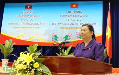 Destacan aportes de provincia de Quang Nam al fortalecimiento de nexos Vietnam-Laos hinh anh 1