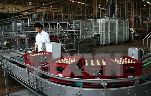 Indice de Produccion Industrial de Vietnam registra leve aumento hinh anh 1