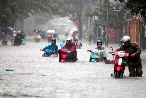 Japon brinda asistencia a Hanoi para mejorar capacidad de prevencion de inundaciones hinh anh 1