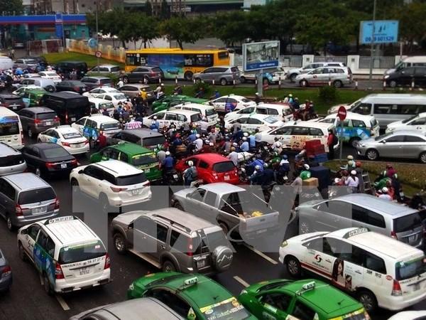 Ciudad Ho Chi Minh establece sistema de control inteligente de transito hinh anh 1