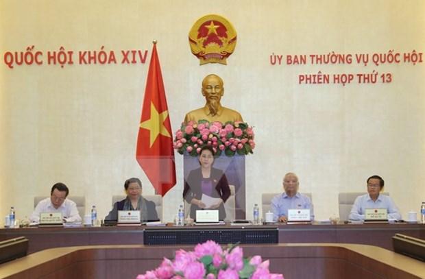 Comite Permanente del Parlamento inicia su decimotercera sesion hinh anh 1