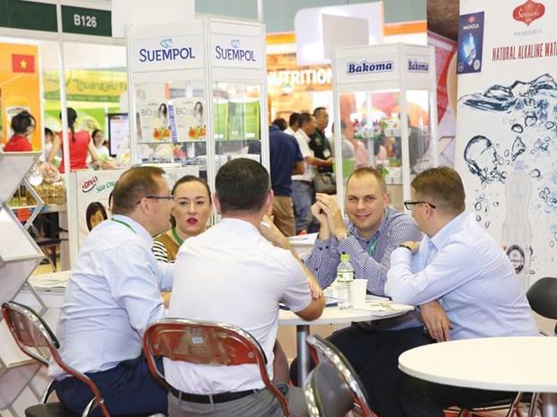 Reportan gran participacion en exposicion Vietfood & Beverage - Propack 2017 hinh anh 1