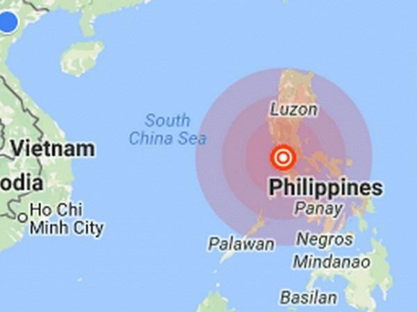 Sismo de 6,3 grados sacude isla filipina de Luzon hinh anh 1