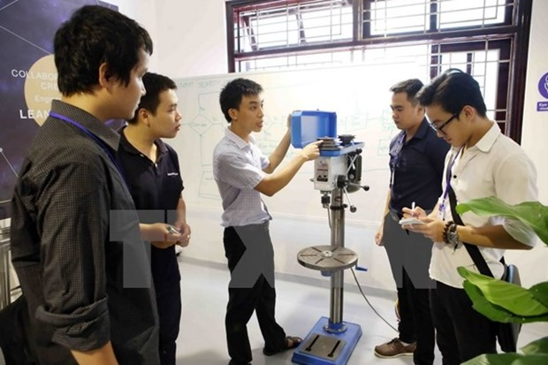 Asistencia estadounidense a Vietnam en establecimiento de Espacio de Innovacion hinh anh 1