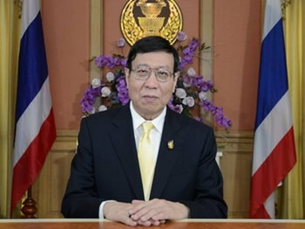 Maximo legislador de Tailandia inicia visita a Vietnam hinh anh 1