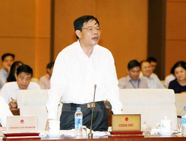 Comite Permanente del Parlamento vietnamita delibera sobre gestion forestal y acuicultura hinh anh 1