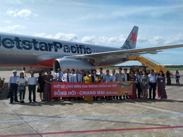 Jestar Pacific abre ruta directa de ciudad vietnamita de Dong Hoi a tailandesa de Chiang Mai hinh anh 1