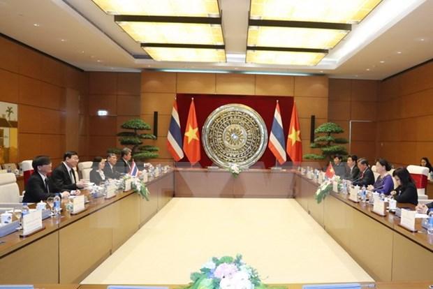 Vietnam y Tailandia buscan robustecer relaciones parlamentarias hinh anh 1
