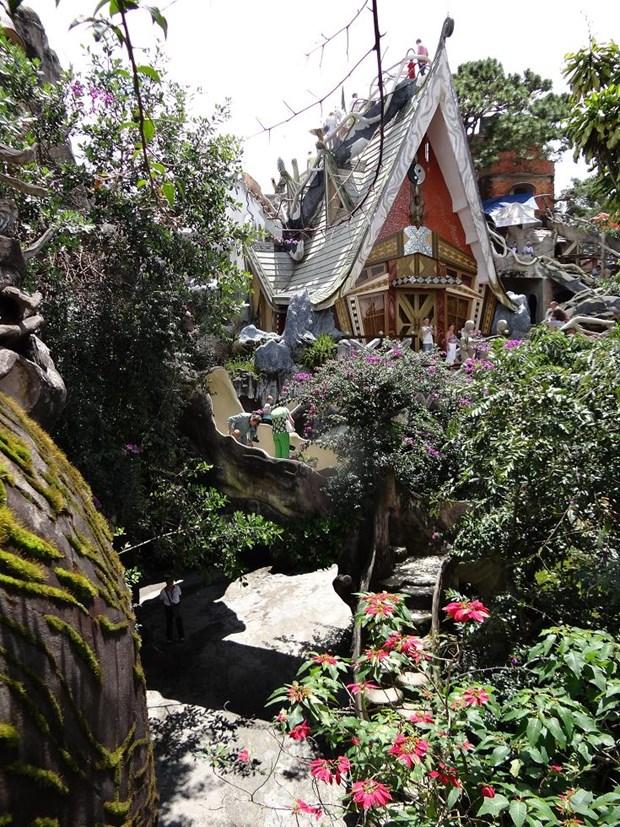 Hotel Crazy House en Da Lat, maravilla mundial de Vietnam hinh anh 1
