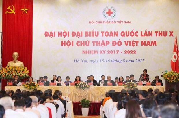 Reconocen contribuciones de la Cruz Roja de Vietnam hinh anh 1