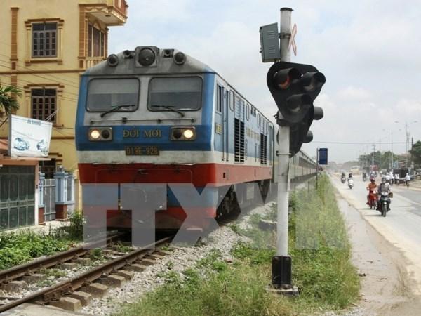 Disminuye numero de accidentes ferroviarios en Vietnam hinh anh 1