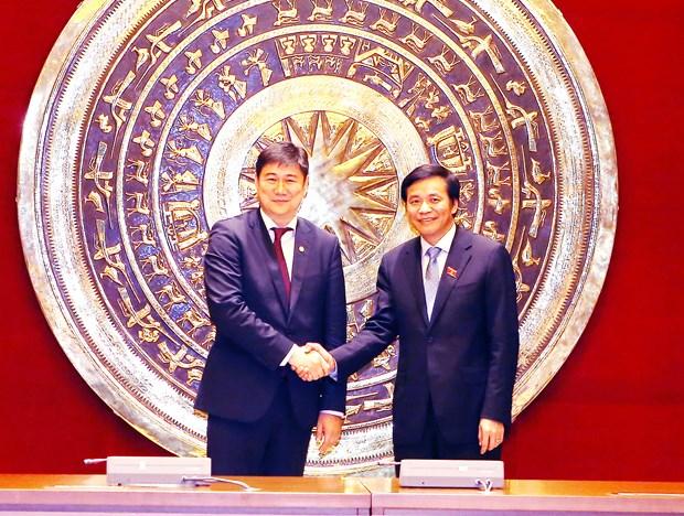 Oficinas parlamentarias de Vietnam y Mongolia fortalecen cooperacion hinh anh 1