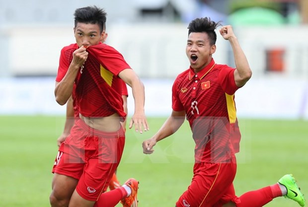 Buen inicio de seleccion vietnamita de futbol en SEA Games 29 hinh anh 1
