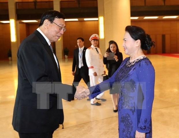 Presidente de Asamblea Legislativa Nacional de Tailandia concluye visita a Vietnam hinh anh 1