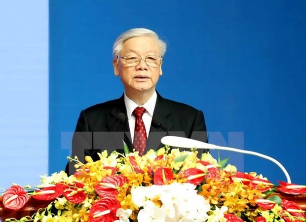 Maximo dirigente partidista de Vietnam visitara Indonesia y Myanmar hinh anh 1