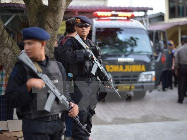Indonesia: Cinco arrestados por planear ataque al Palacio Presidencial hinh anh 1