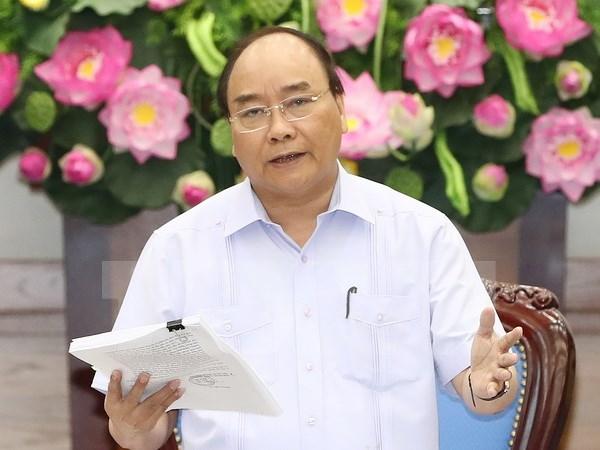 Premier vietnamita exhorta a mayor cooperacion entre policias de Vietnam y Camboya hinh anh 1