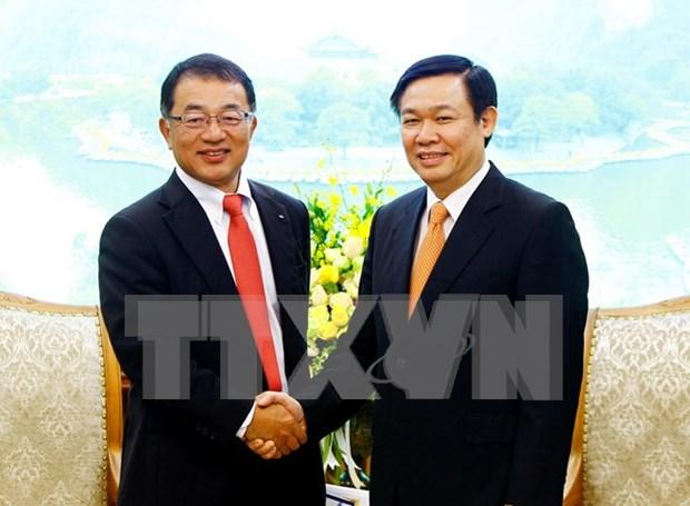 Vicepremier vietnamita respalda ampliacion de negocios de grupo Kirin hinh anh 1