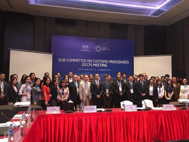 APEC acelera reformas de procedimientos aduaneros hinh anh 1
