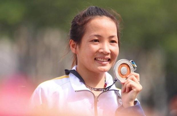 SEA Games 29: Otra medalla de plata para delegacion de Vietnam hinh anh 1