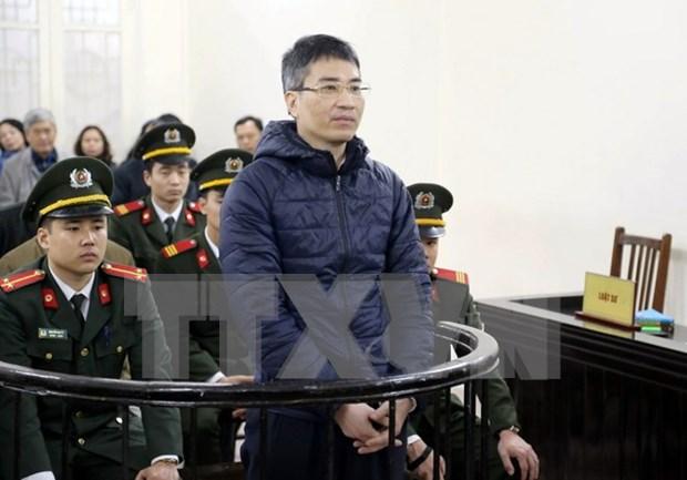Tribunal de Hanoi mantiene sentencias a exfuncionarios de Vinashinlines hinh anh 1