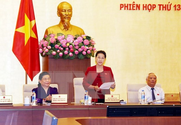 Comite Permanente de la Asamblea Nacional de Vietnam cierra su 13 reunion hinh anh 1