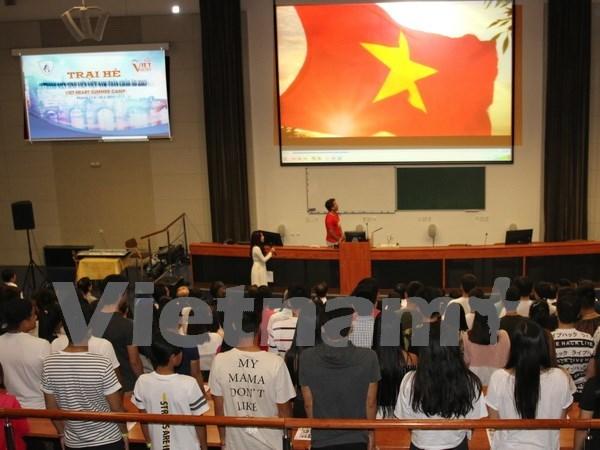 Efectuan en Republica Checa campamento de verano para vietnamitas residentes en Europa hinh anh 1